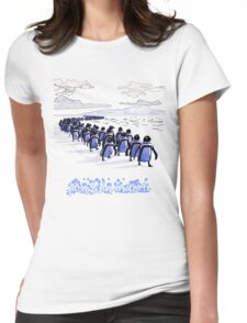 Penguin March Womens Fitted T-Shirt