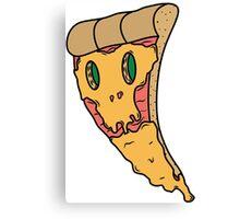 Bad pizza Canvas Print
