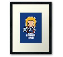 Hammer Time! Framed Print