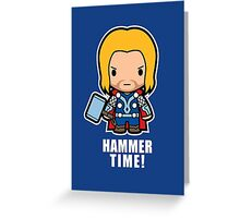 Hammer Time! Greeting Card