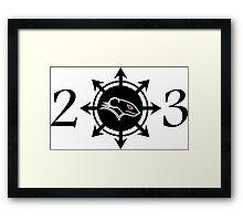 Raging Rat 23 logo Framed Print