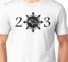 Raging Rat 23 logo Unisex T-Shirt