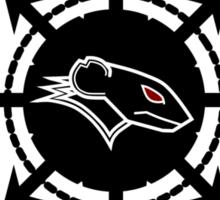 Raging Rat 23 logo Sticker