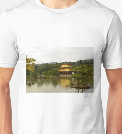 Kinkakuji in the Rain Unisex T-Shirt