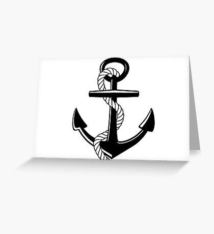 Nautical Anchor Greeting Card