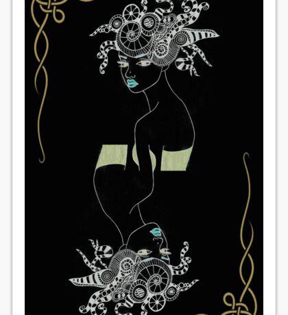 Temptress Tarot 2 Back Sticker