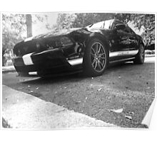 2013 Ford Mustang GT Hertz Penske Edition Poster