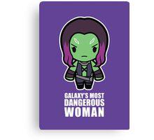 Galaxy's Most Dangerous Woman Canvas Print