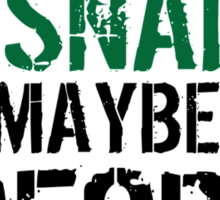 Funny 'All I care about are my snakes and like maybe 3 people' T-shirt Sticker