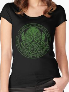 Cthulhu-Seal Women's Fitted Scoop T-Shirt