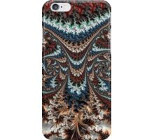 Feathery Owl Fractal Abstract Masculine Art iPhone Case/Skin