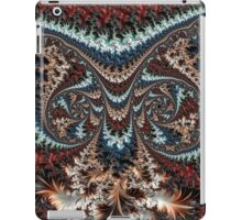 Feathery Owl Fractal Abstract Masculine Art iPad Case/Skin