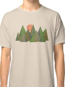 Crumpled Mountains  Classic T-Shirt