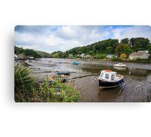 Lerryn River,Cornwall Canvas Print