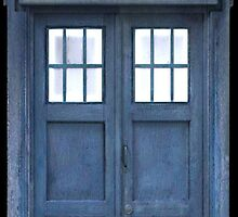 TARDIS Door by Aaron Svoboda