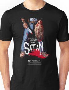 Say You Love Satan 80s Horror Podcast - Maniac Unisex T-Shirt