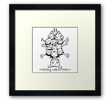Eleventh Day of Christmas Framed Print
