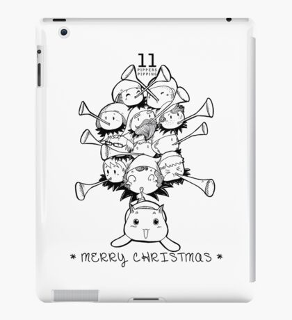Eleventh Day of Christmas iPad Case/Skin