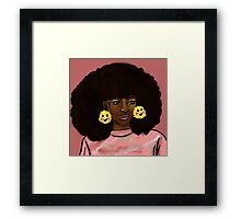 Touch the Fro Framed Print