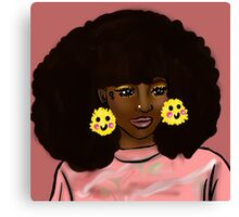 Touch the Fro Canvas Print