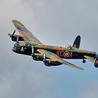 Battle of Britain Memorial Flight Lancaster by © Steve H Clark
