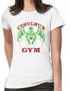 Cthulhu Gym Womens Fitted T-Shirt