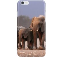 Elephant herd iPhone Case/Skin