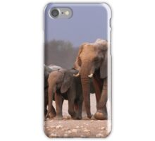 Elephant herd iPhone Case/Skin