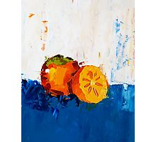 Divine Persimmon Photographic Print
