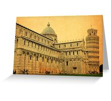 Leaning Tower of Pisa-Tuscany Greeting Card