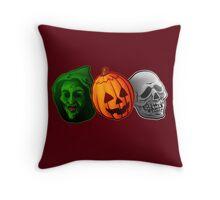 Happy, Happy Halloween! Throw Pillow