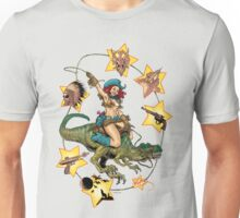 ROXY WEST; QUEEN OF DINOSAUR ISLAND Unisex T-Shirt