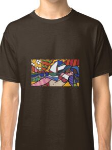 Laying By the Beach Classic T-Shirt