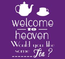 'welcome to heaven' quote by goldenbirdkj