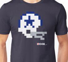 Dallas Vintage Helmet - Tecmo Bowl Unisex T-Shirt