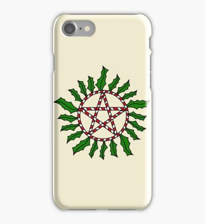 Holiday Anti-Possession Symbol iPhone Case/Skin