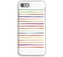 Irregular Stripes (Fruit) iPhone Case/Skin