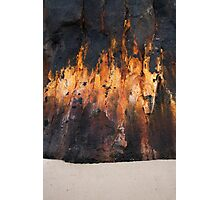 Wall of Flame Photographic Print