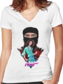 NSP! Women's Fitted V-Neck T-Shirt
