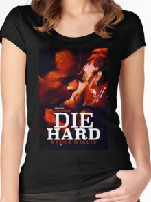 DIE HARD 24 Women's Fitted Scoop T-Shirt