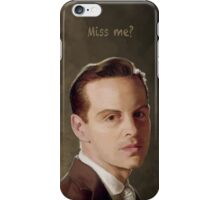 Moriarty - Miss me?  iPhone Case/Skin