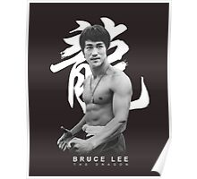 Bruce Lee Graphic T shirt The Dragon Poster