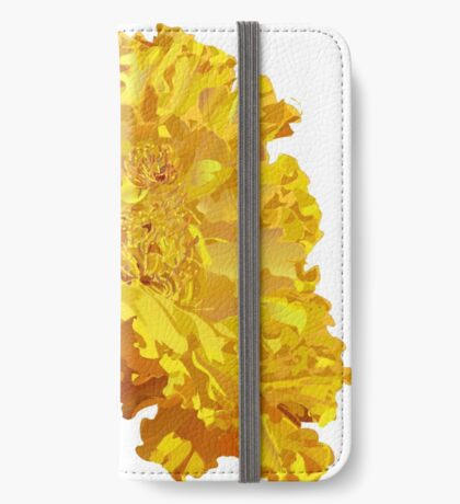 Yellow Marigold  iPhone Wallet/Case/Skin