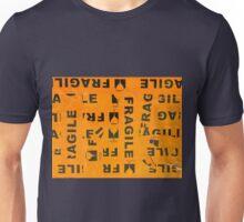 Fragile Orange Unisex T-Shirt