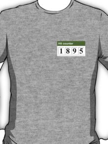 1895 Hit counter T-Shirt