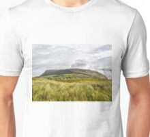 Knocknarea Mountain, Sligo, the north side from Strandhill Beach Unisex T-Shirt