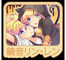 Rin & Len Kagamine - Happy Halloween! Photographic Print