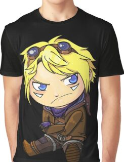 Chibi Ezreal Graphic T-Shirt