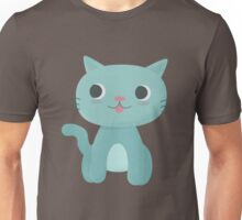 Cute and Happy Cat Unisex T-Shirt
