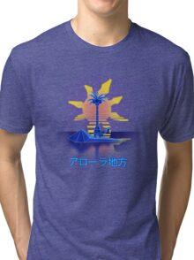 Alola Wave Tri-blend T-Shirt